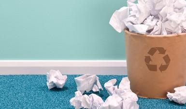 Recyclage papier blanc