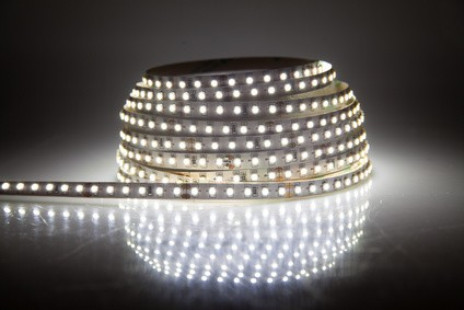 Glowing LED garland, strip